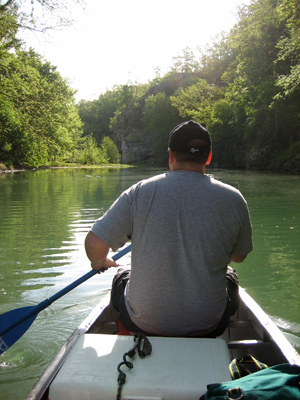 Canoeing and Camping on the Buffalo River