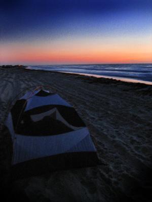 Camping at FreemanPark