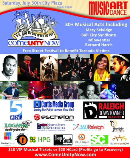 ComeUnityNow Festival Downtown Raleigh